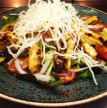 Spicy Grilled Chicken Salad