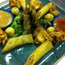 Thai Appetizer Platter